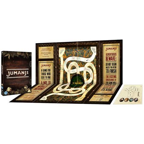 jumanji  special edition dvd  board game dvd