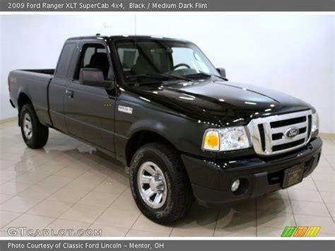 black 2009 ford ranger xlt supercab 4x4 medium flint interior gtcarlot vehicle