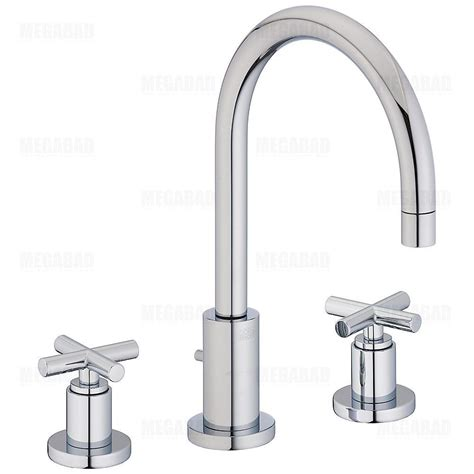 dornbracht tara 3 hole lav faucet w cross hndls 20713892