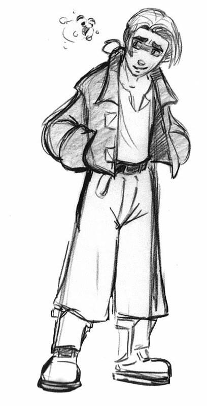 Treasure Planet Character Glen Keane Disney Concept