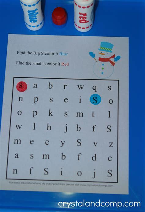 preschool search snowman do a dot printables for preschoolers 330