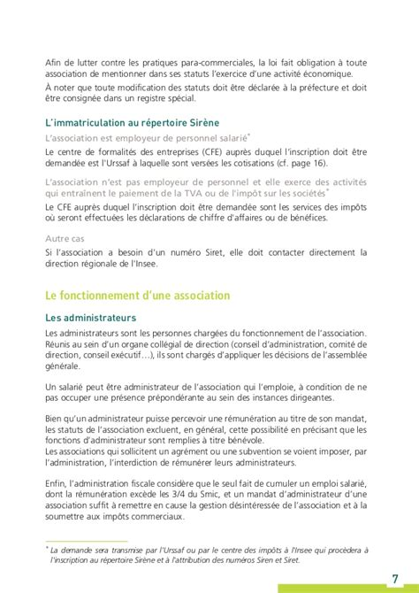 si鑒e social d une association guide urssaf l association et la protection sociale