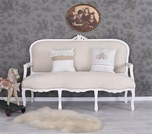 Barock Sofa Weiß : salon sofa barock sitzbank vintage weiss kanapee couch antik brocante eur 399 99 picclick de ~ Frokenaadalensverden.com Haus und Dekorationen