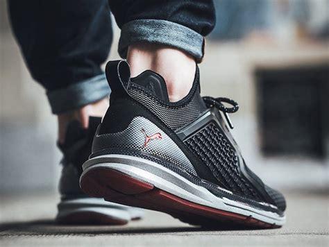 puma ignite limitless  tech puma black sneakerfiles