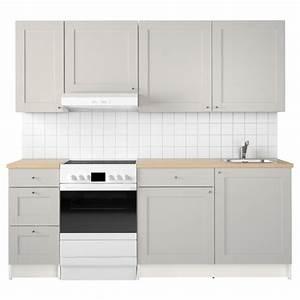 Knoxhult kitchen grey 220x61x220 cm ikea for Ikea küchenzeile