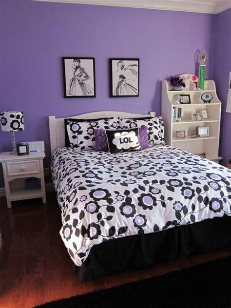 motif chambre fille chambre ado fille linge de lit en tant que décoration