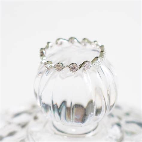 silver simple vintage ring cute wave ring bridesmaid