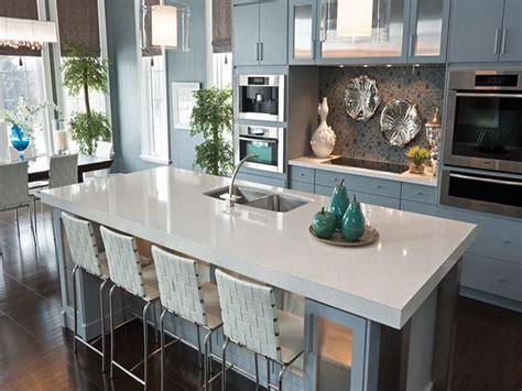 kitchen cool blue quartz countertops cambria white quartz