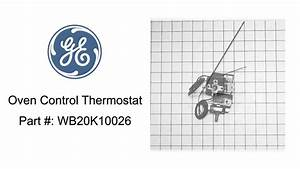 General Electric Oven Control Thermostat   Wb20k10026