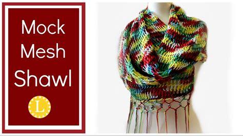 Loom Knit Shawl - Erieairfair