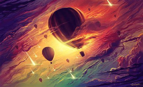Hot Air Balloons By Frostwindz On Deviantart