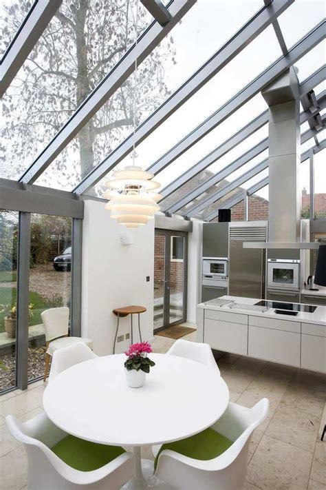 extension cuisine extension de maison par la cuisine avec table ronde