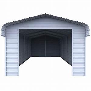 Versatube Enclosure Kit For 12 Ft  W X 20 Ft  L X 7 Ft  H Steel Carport