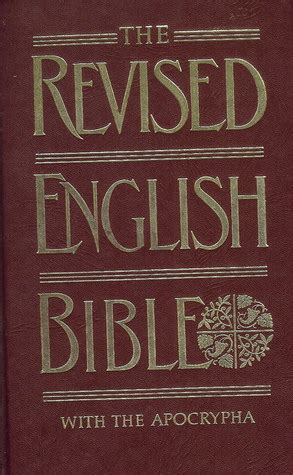 holy bible revised english bible  apocrypha