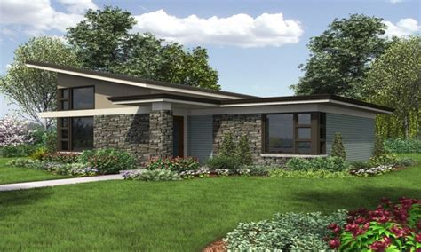 One Story Modern House Plans by In Shorts Modern Single Story Contemporary