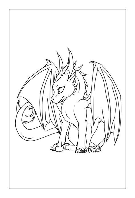 coloring.rocks! | Easy dragon drawings, Dragon coloring