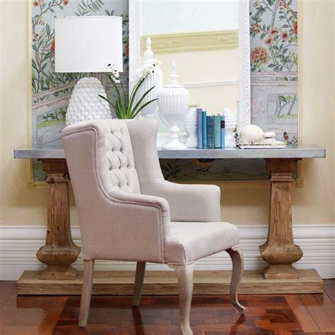 Domayne Armchairs by Layfayette Side Table From Domayne For Front Entry Wall
