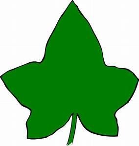 Ivy Leaf Big Green 2 Clip Art at Clker.com - vector clip ...