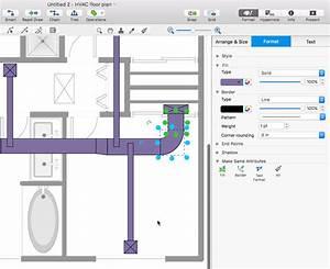Building Hvac Diagrams : creating a hvac floor plan conceptdraw helpdesk ~ A.2002-acura-tl-radio.info Haus und Dekorationen
