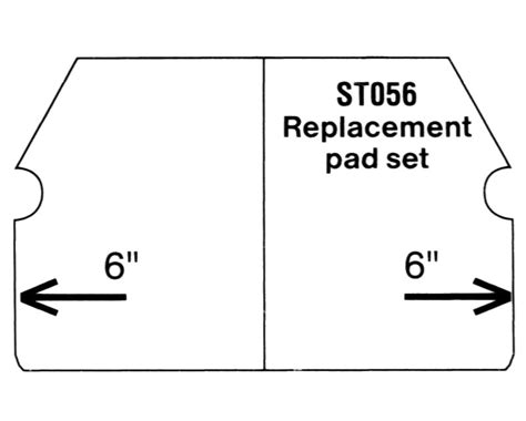 Superior Tile Cutter Replacement Pads by Superior Tile Cutter Replacement Pad Set St003 And St004