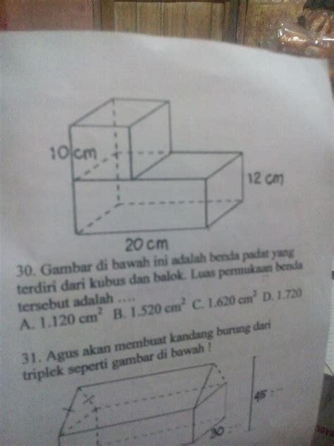 Cara mudah menghitung volume gabungan dua bangun ruang. Rumus Volume Kubus Dan Balok Brainly - Rajiman