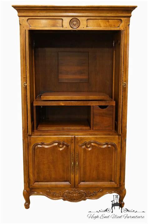 henredon furniture folio  collection  media armoire