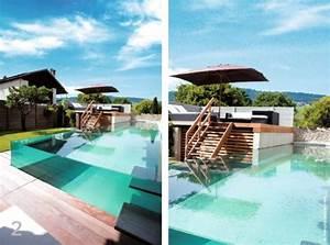 piscine la star de nos etes traits d39co magazine With mobilier de piscine design 5 deco mur exterieur homeandgarden