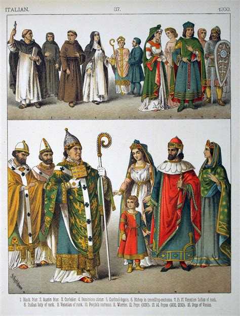 1000 images about s historical clothing on file 1200 italian 037 costumes of all nations 1882