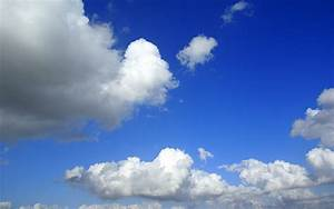 Blue, Sky, With, Clouds, Wallpaper