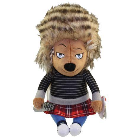 ty beanie baby ash  porcupine sing bbtoystorecom
