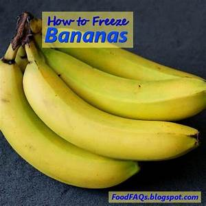 How to Freeze Bananas with a lesson from a monkey on how ...