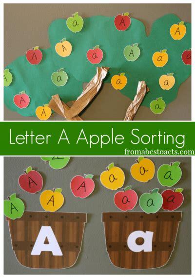 fall printables  kids preschool apple theme