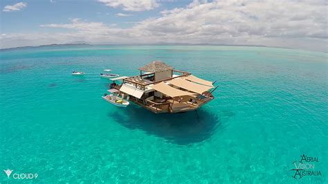 Spending Your Vacation On A Floating Bar Surrounded By
