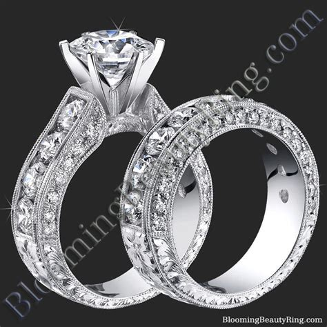 spectacular 4 20 ctw top quality round diamond engagement
