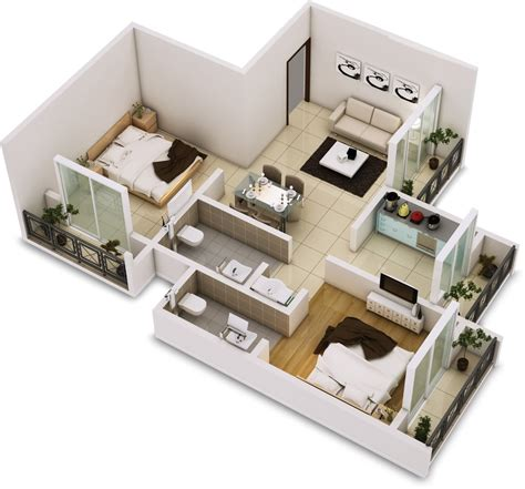 two bedroom house 25 two bedroom house apartment floor plans 13674
