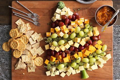christmas appetizer tree board tree cheese board recipe kraft canada