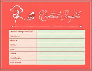 cookbook word template dotxes With free online cookbook template