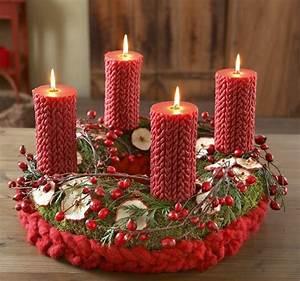 Adventskranz Rot Selber Machen : 1001 adventskranz ideen und bilder f r ihre weihnachtsdeko ~ Markanthonyermac.com Haus und Dekorationen