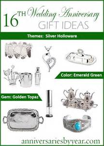 15th wedding anniversary gifts 16th year anniversary 16th anniversary gifts