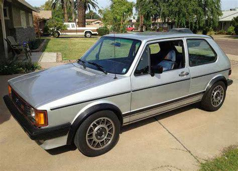 old volkswagen rabbit 1983 vw rabbit gti buy classic volks