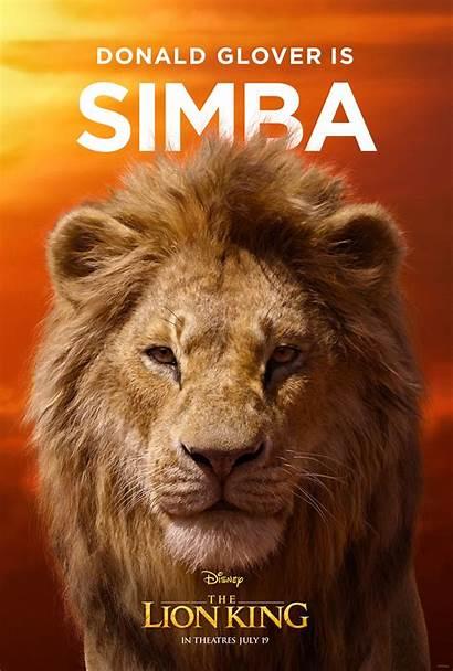 Lion King Poster Character Simba Action Disney