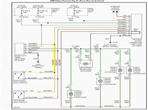 Subaru Legacy Radio Wiring Diagram Forums
