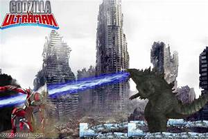 Godzilla vs Ultraman by SuperGodzilla on DeviantArt