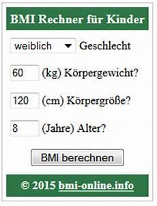 Bmi Berechnen Kinder : bmi rechner kinder f r die eigene webseite widget html ~ Themetempest.com Abrechnung