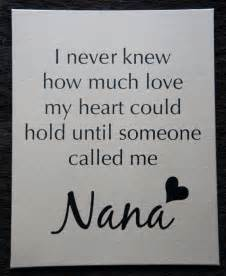 Heart Never Knew How Much I Love My Nana