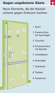 Tür Gegen Einbruch Sichern : t rsicherungen so sch tzen sie ihr zuhause test ~ Lizthompson.info Haus und Dekorationen