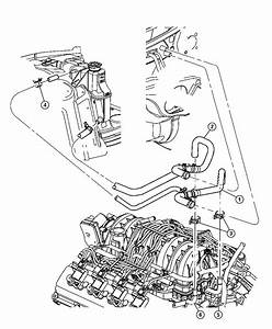 2010 Dodge Charger Hose  Heater Supply