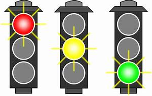 Clipart - Traffic Light (RYG)