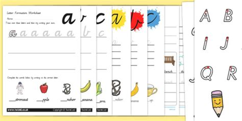 victoria cursive letter formation pack handwriting resource