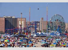 Coney Island New York City Editorial Photo Image of